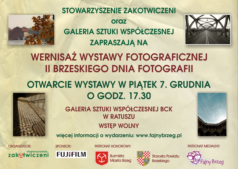 Wernisaż II Brzeskiego Dnia Fotografii