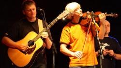 Wojciech Czemplik (skrzypce) podczas jednego z ostatnich koncertów SDM