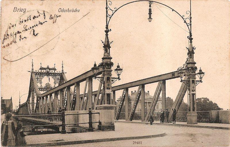 Brzeg. Most odrzański